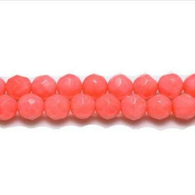 "14/"" String Dyed Shell Nugget Beads BNNugg09 AB CORAL"