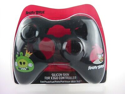 Xbox 360 Controller Angry Birds Skin Wrap Silicon in Black Wholesale Lot of 24