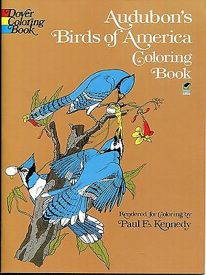 Audubon's Birds of America Adult Coloring Book (Paperback, New) Dover