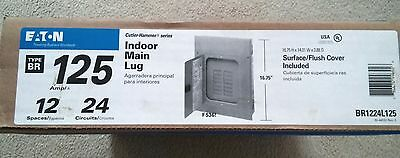 Eaton Cutler-Hammer 125A 12-Spaces 24-Circuits Indoor Main Lug - NEW