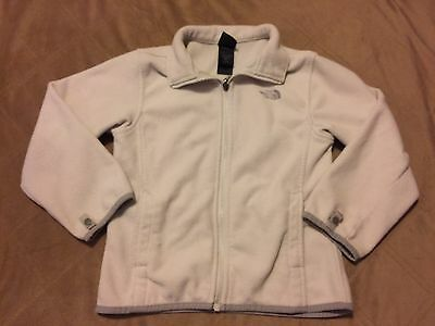 Girls North Face Jacket Coat Fleece Size S Small Fits 5 6