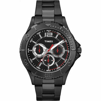 Timex TW2P87700 Main Street Collection Black Sporty Men's Watch ~ GREAT GIFT