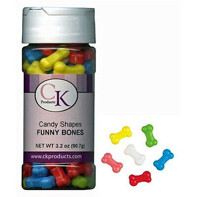 Funny Bones Candy Shapes Sprinkles 3.2 oz from CK #23351 - NEW