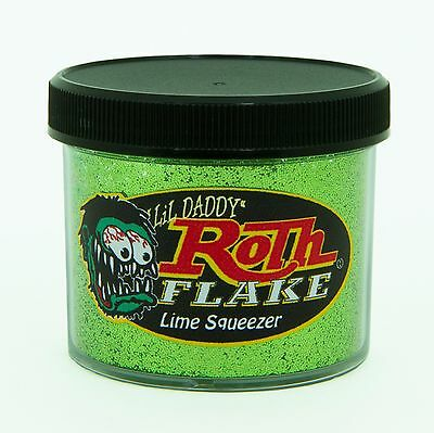 Lil' Daddy Roth Metal Flake Lime Squeezer