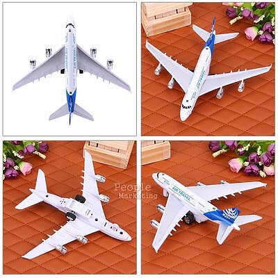 Alloy Airplane Aircraft Model Kids Children Airliner Passenger Plane Toy Gift