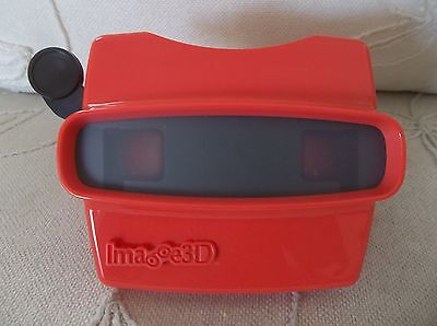 View Master Image 3D Red Viewer Usa New