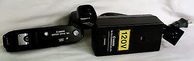 Excellent Canon MA Motor Drive w/Ni-Cd Battery Pack & Charger