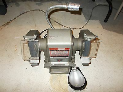 Excellent Vintage Sears 6 Inch Craftsman 1 2 Hp Bench Grinder 397 Caraccident5 Cool Chair Designs And Ideas Caraccident5Info