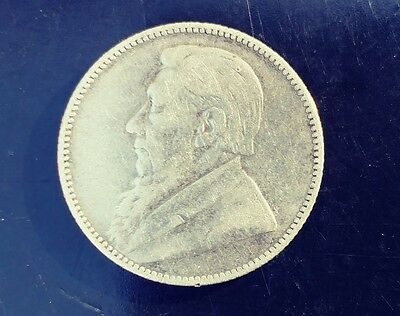 South Africa 1892 1 Shillings - silver