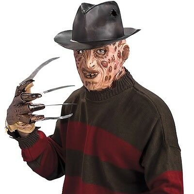 Adult Freddy Krueger Scary Glove Horror Movie Halloween Party Accessory Costume