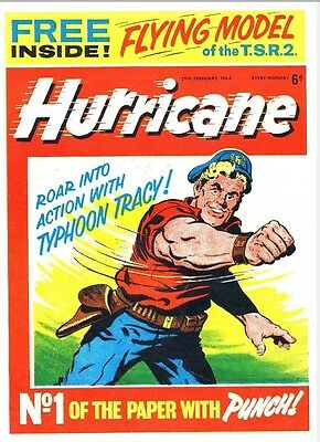 UK COMICS HURRICANE COLLECTION CLASSIC 1960s COMICS ON DVD