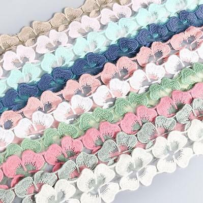 2 Yards Lace accessories  DIY embroidery lace Wedding dress Sewing Trim