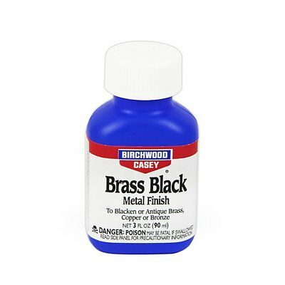 (15225) Brass Black 3oz by Birchwood Casey Gun Care Cleaning Fast-acting