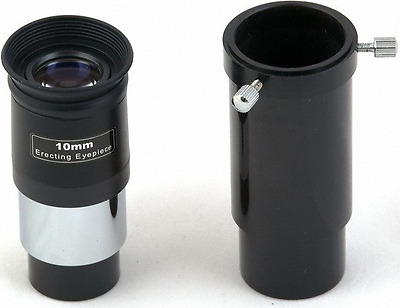 "Skywatcher 10MM Erecting Telescope Eyepiece With Ext tube 1.25"" fitting"