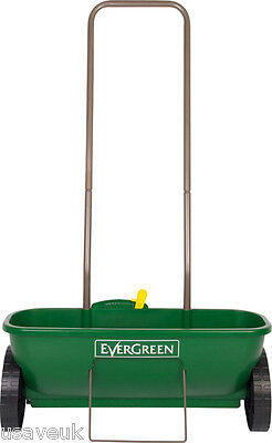 EverGreen Easy Garden Lawn Fertilizer Weed & Feed Seed Spreader
