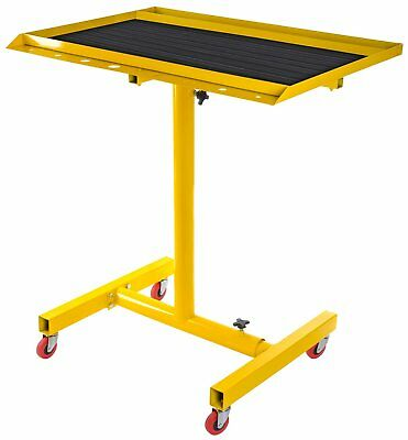 JEGS Performance Products 81420 Rolling Work Table 200 lb. Capacity Adjustable f