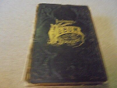 Vintage 1888 Illustrated Biography Album Pope and Stevens County Minnesota Minn.