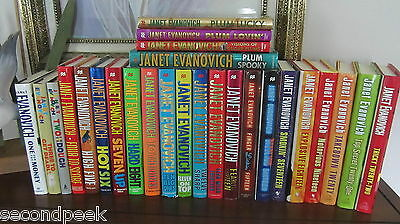 Janet Evanovich Complete Stephanie Plum Books 1-22 and 4 In-Between Hardcover