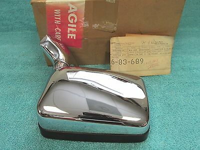 1982 Buick Regal With Dg8 ( Export )  Rh  Outside  Manual  Mirror  Nos Gm 317