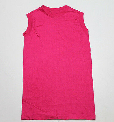Lot of 23 XS * NOS vtg 80s BLANK hot pink HANES muscle t shirt * HHP2