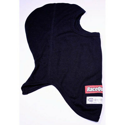 RaceQuip 433991 SFI 3.3 Head Sock Black One Layer
