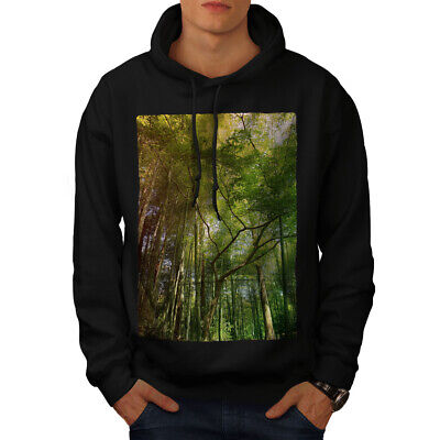 wellcoda Jungle Urban Photo City Mens Hoodie Hooded Sweatshirt