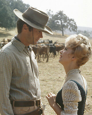 Rawhide Clint Eastwood in scene with Ruta Lee guest star 8x10 Photo