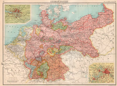 + Brittany FRANCE SOUTH Inset Marseilles plan BARTHOLOMEW 1898 old map