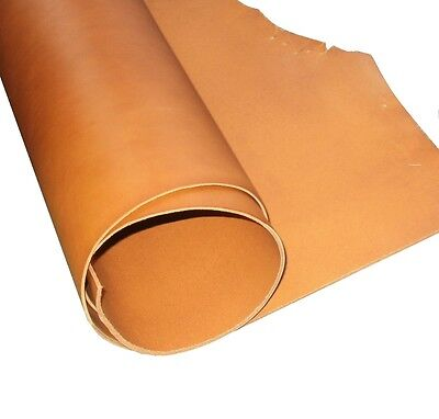 2Mm Thick A Grade Whiskey Tan Full Grain Veg Tan Cowhide Tooling Craft Leather