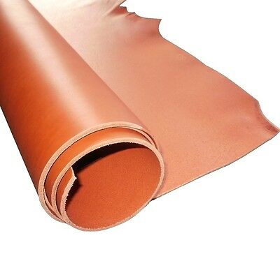 3.5Mm Thick A Grade Saddle Tan Veg Tan Cowhide Tooling Craft Leather
