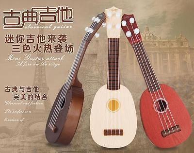 New 4Strings Musical Plastic Toy Ukulele Small British style children's Guitar