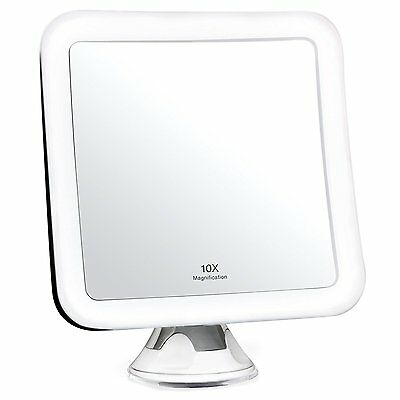10X Magnifying Lighted Makeup Mirror - Daylight LED Travel Vanity Mirror -...