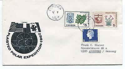 1967 Plaisted Expedition Meteorological Office Canada Eureka N.W.T. Polar Cover