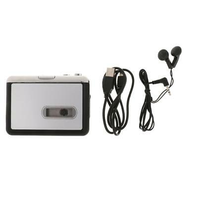 Tape to MP3 Convert PC USB Cassette Capture Player USB Headphone Software CD