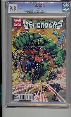Defenders #1 Cgc 9.8 Neal Adams Marvel Feature Variant Cover
