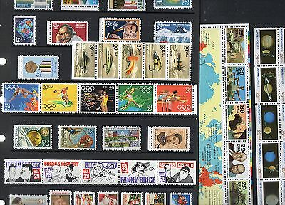 USA Stamp Collection 1991 COMMEMORATIVES Unmounted Mint Ref:QE748