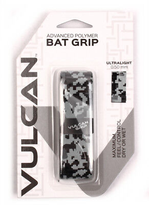 Vulcan V050-GCAM Ultralight Bat Grip 0.500 mm Gray Camo