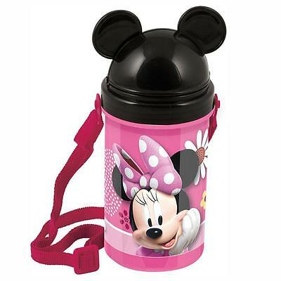 Disney Minnie Mouse - Flip Top Canteen Water Bottle 500 ml