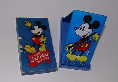 """Disney 1935 Ingersoll """"mickey Mouse"""" 3 Piece Wristwatch Box-No Watch Included!"""