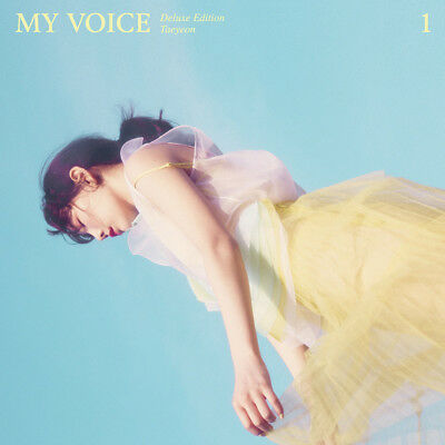TAEYEON Girls' Generation SNSD - My Voice (Deluxe Edition) CD+Poster+Free Gift