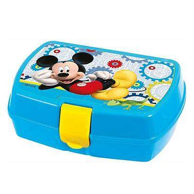 Disney Mickey Mouse - Caja Merienda Rectangular 17 x 12 x 5 cm