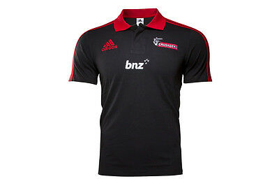 adidas Canterbury Crusaders Super Rugby 2016 Players Media Polo