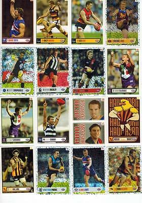 2004 AFL Collection Football Australia Lot 76 Stickers Hot Shot