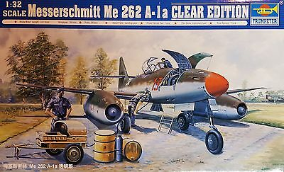 "TRUMPETER® 02261 Messerschmitt Me262A-1a ""Clear Edition"" in 1:32"