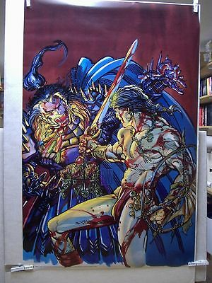 Barry Windsor-Smith: Conan vs. Rune Poster (USA)