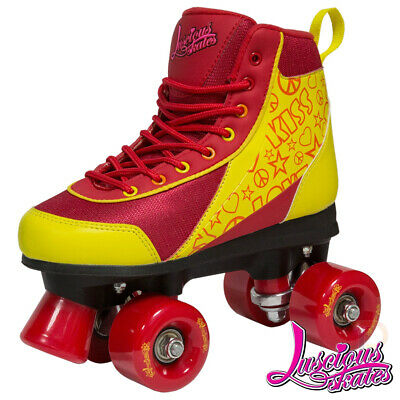 Luscious Quad Roller Skates - Ruby Red