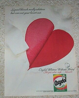 1987 ad page - OXYDOL Laundry Soap detergent Procter Gamble vintage ADVERTISING
