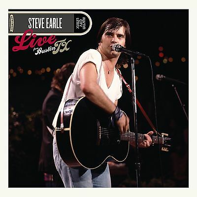 STEVE EARLE 'LIVE FROM AUSTIN TX' 180g Double VINYL LP (2017)