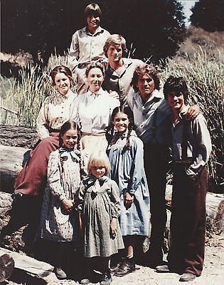 Little House On The Prairie Cast 8 X 10 Photo With Ultra Pro Toploader