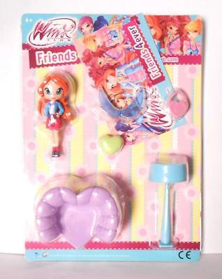 Winx Club Friends 4 Ever Figurine with Furniture to Choose